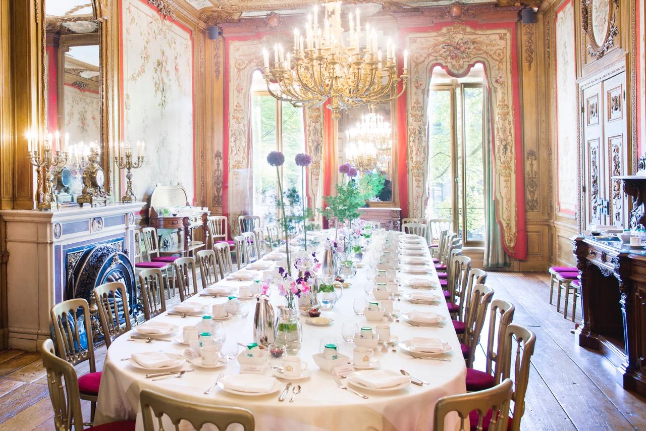Marijt Schaab catering in ambtswoning van de burgemeester van Amsterdam