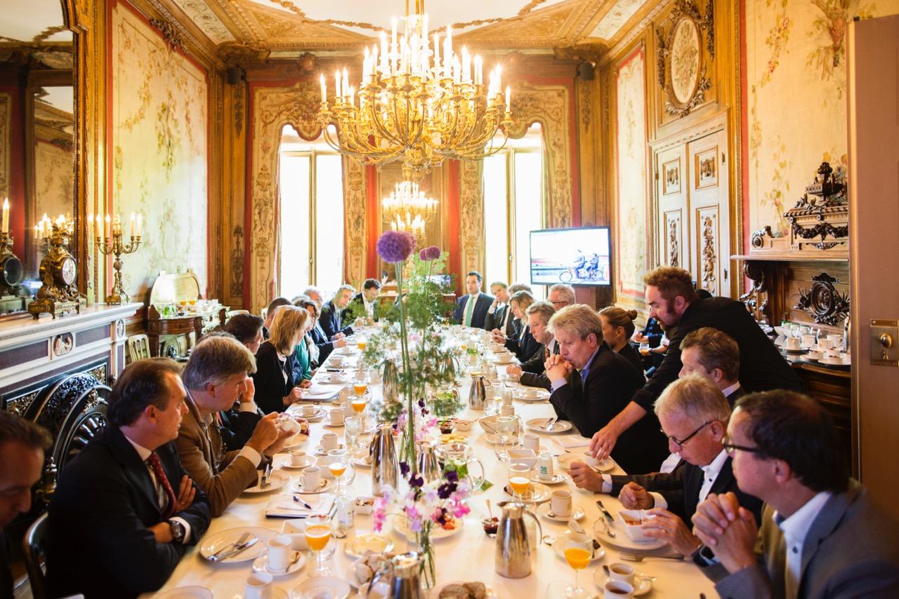 Catering ambtswoning van de burgemeester in Amsterdam door Marijt Schaab catering