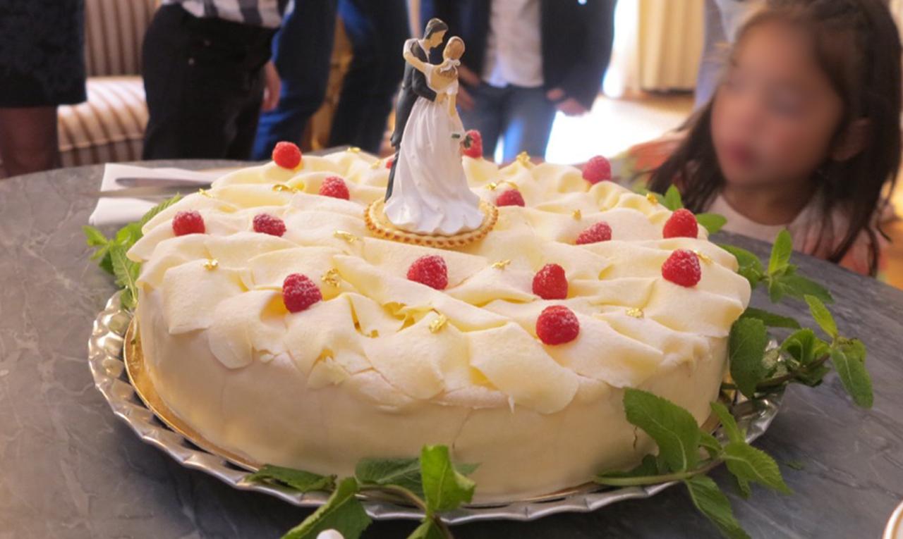 Marijt Schaab catering voor bruiloften met bruidstaart